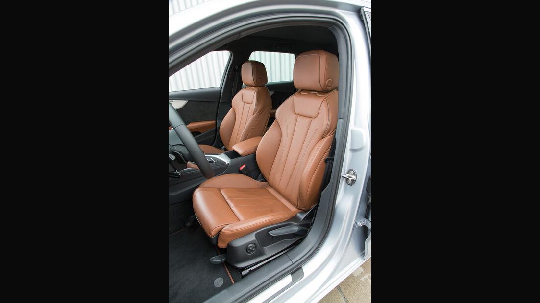 Audi A4 Avant 2.0 TFSI, Fahrersitz