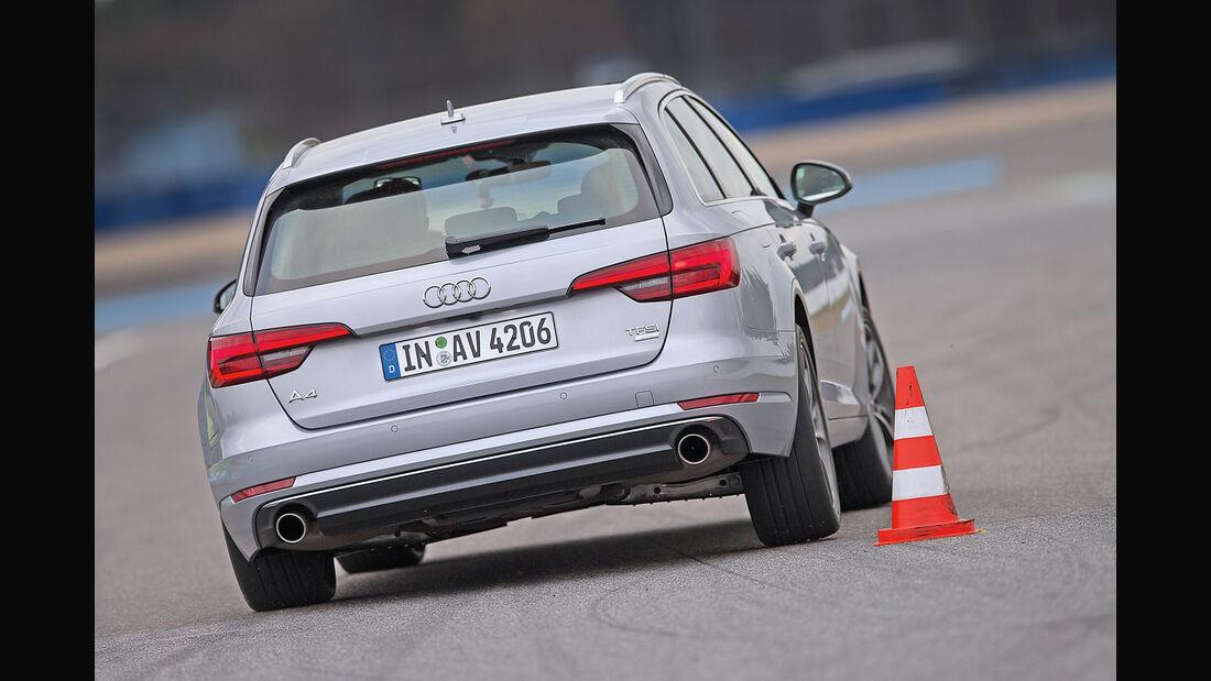 Audi A4 Avant 2.0 TFSI, Heckansicht