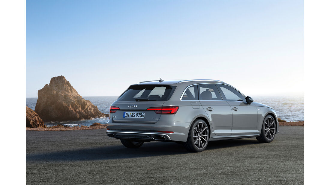 Audi, A4, Avant, 2018, Kombi