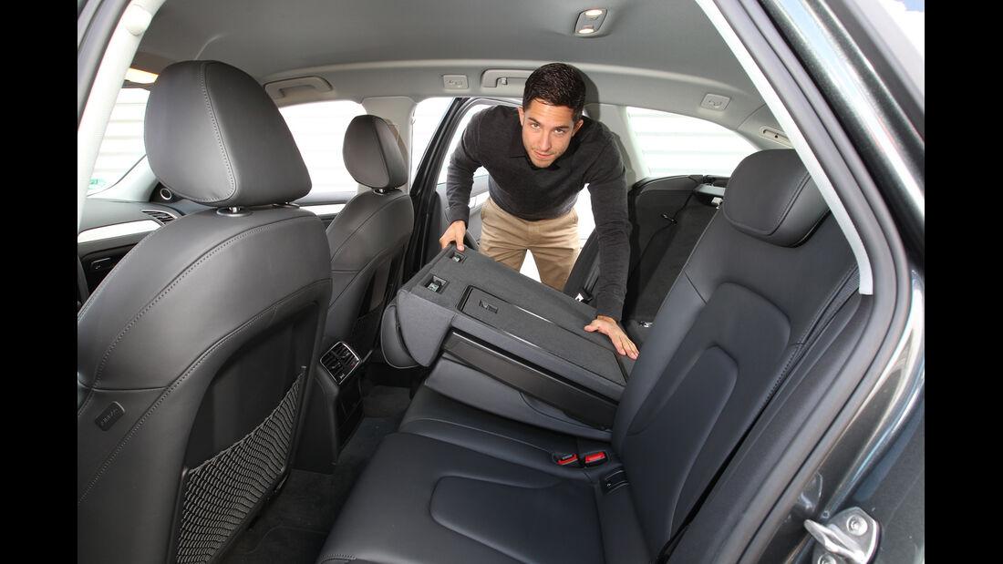 Audi A4 Avant 3.0 Quattro, Rücksitz, umklappen