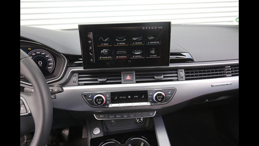 Audi A4 Avant 40 TDI Quattro, Interieur