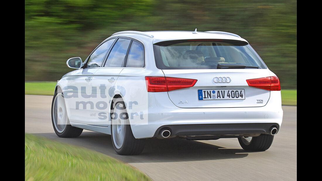 Audi A4 Avant, Heckansicht
