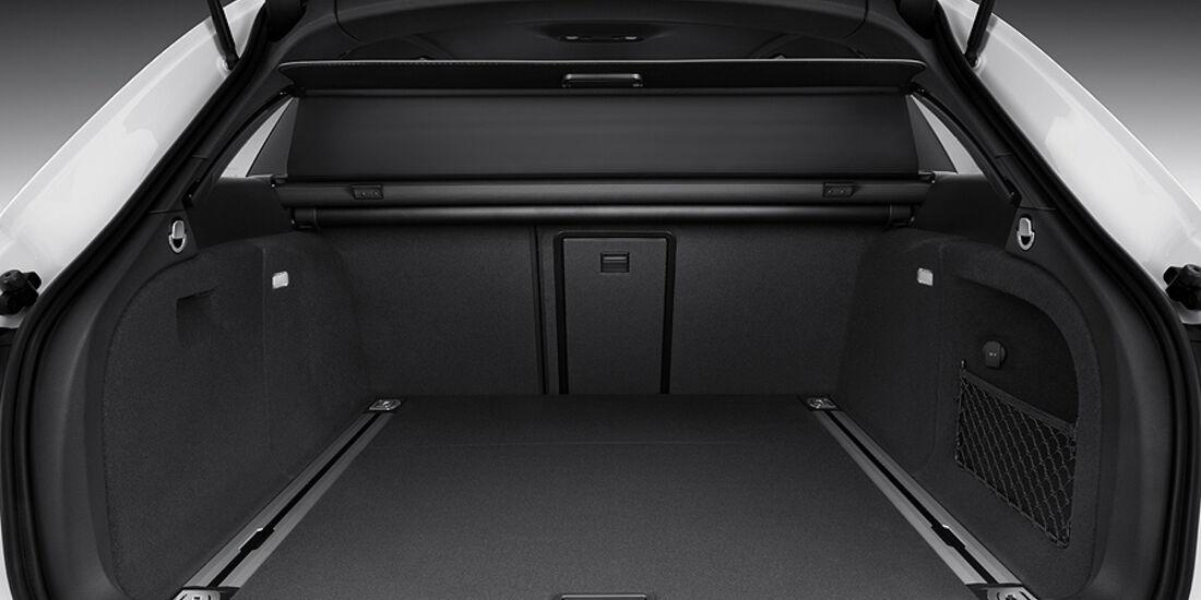 Audi A4 Avant, Kofferraum