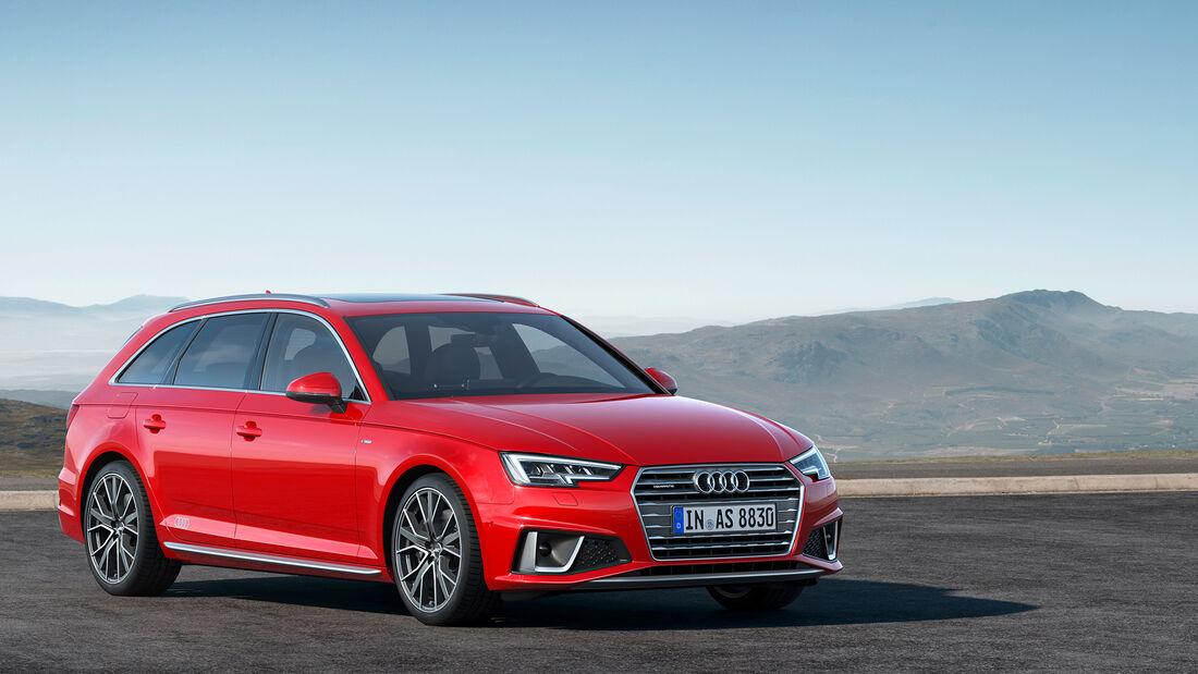 Audi, A4, Avant, S-Line, 2018, Kombi