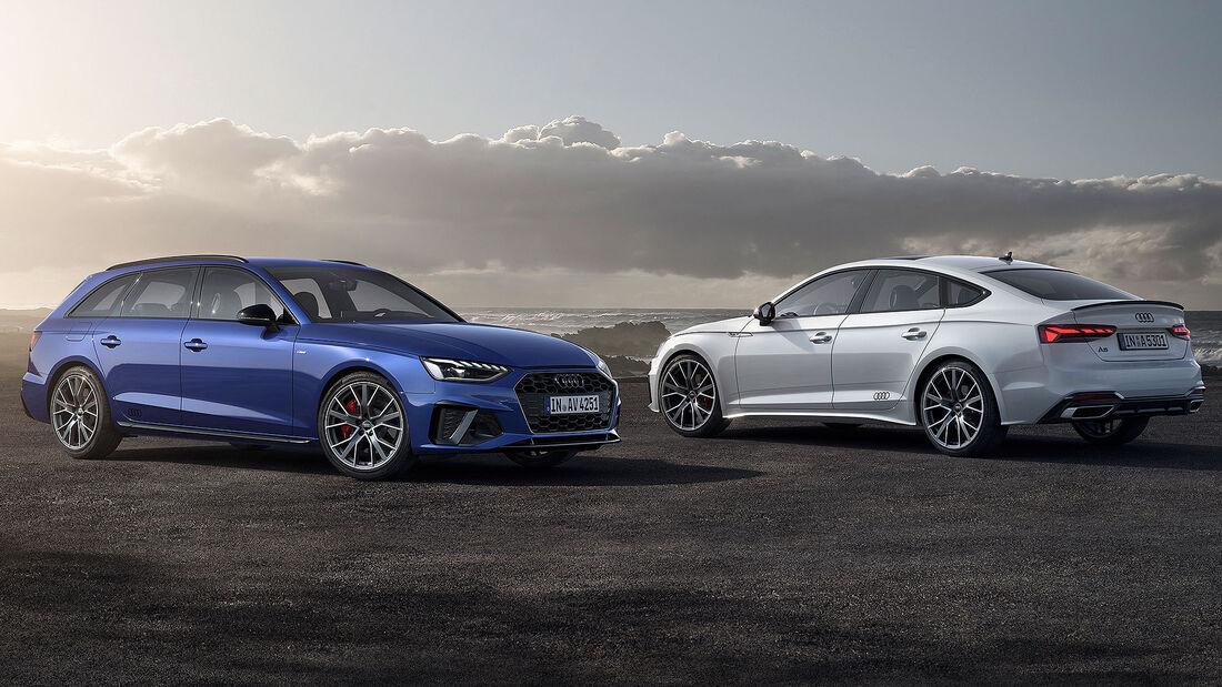 Audi A4 Avant und A5 Sportback S Line Competition Plus
