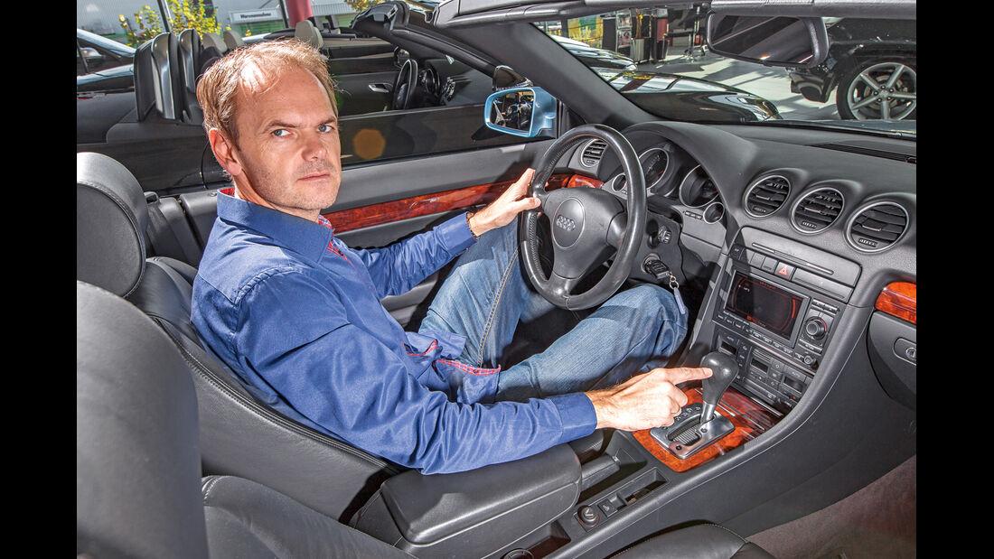 Audi A4 Cabrio TDI, Cockpit
