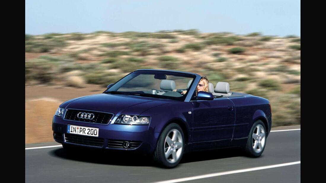 Audi A4, Cabriolet