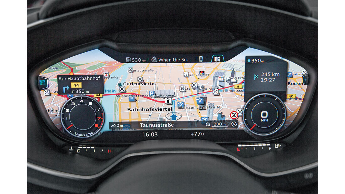 Audi A4, Digitales Cockpit