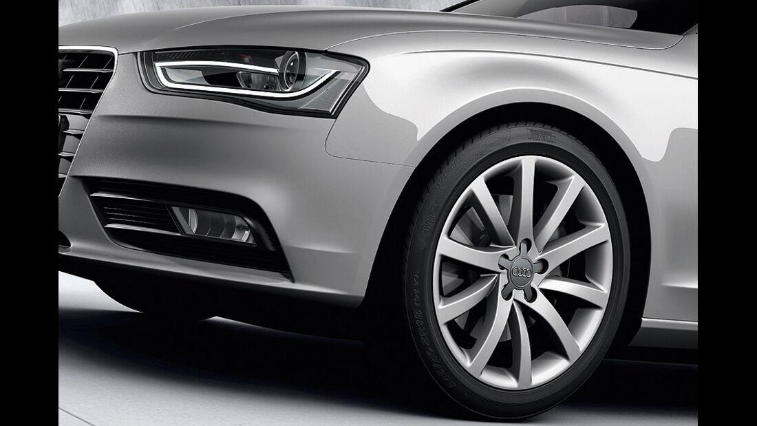 Audi A4, Felgen