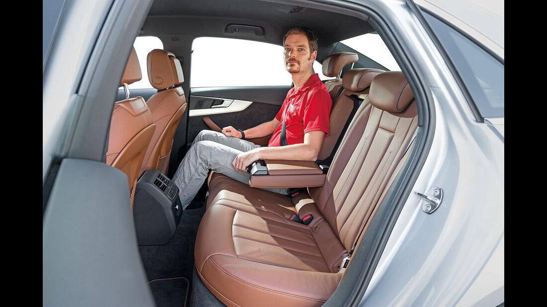 Audi A4, Fondsitze