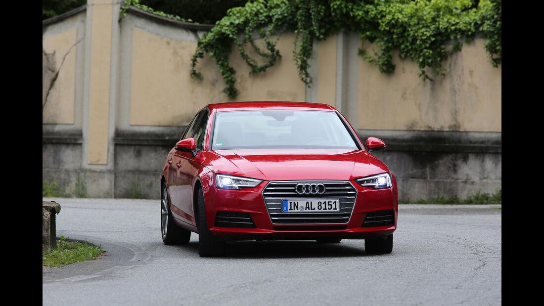 Audi A4, Frontansicht