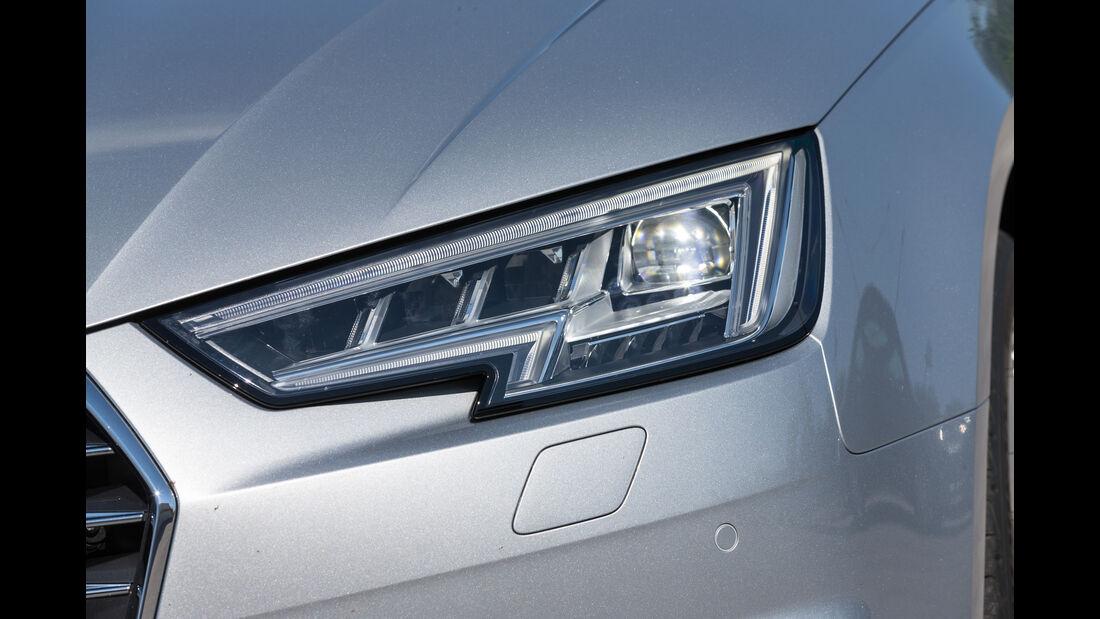 Audi A4, Frontscheinwerfer