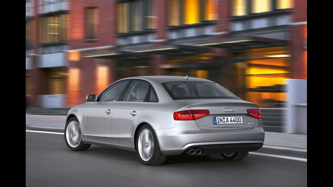 Audi A4, Heck