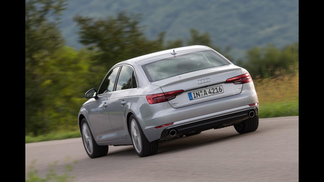 Audi A4, Heckansicht
