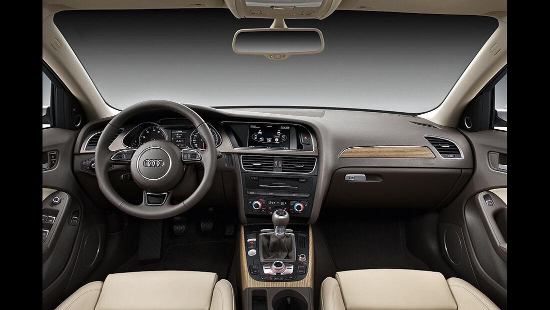 Audi A4, Innenraum, Cockpit