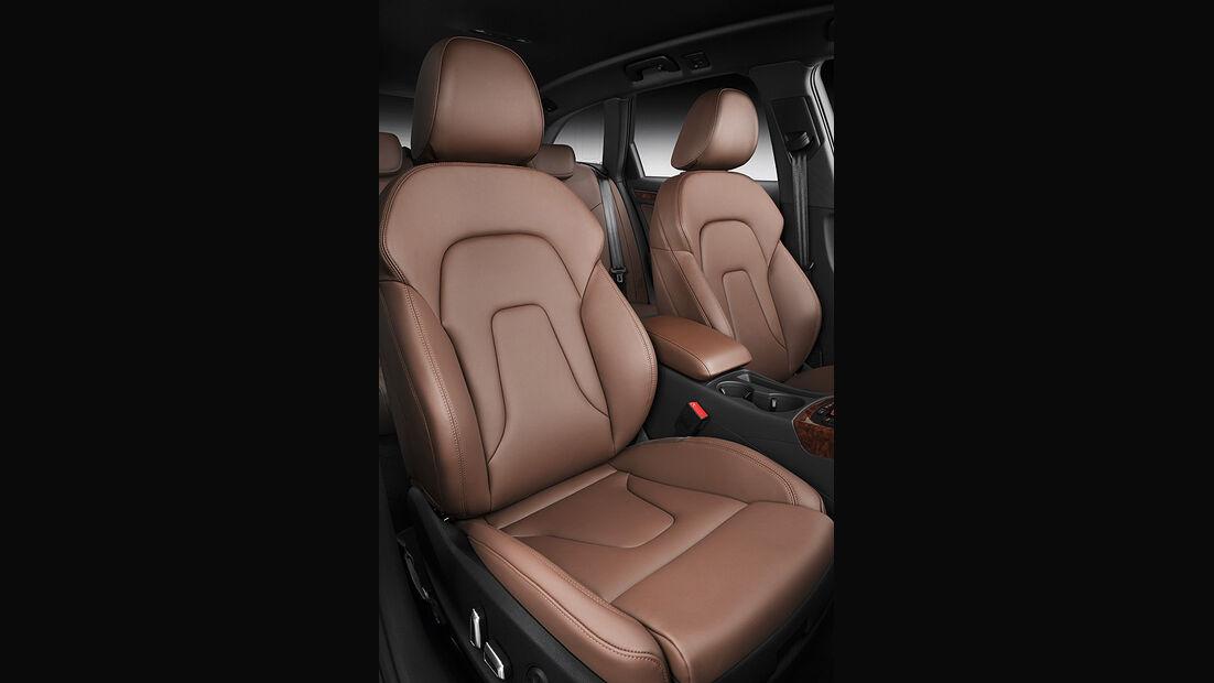 Audi A4, Innenraum, Sitze