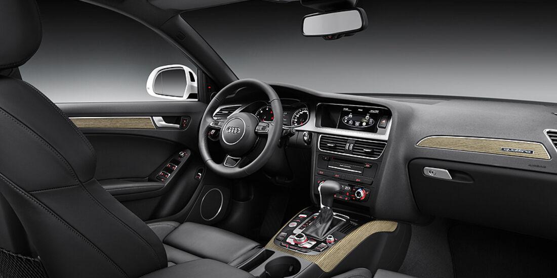 Audi A4, Innenraum
