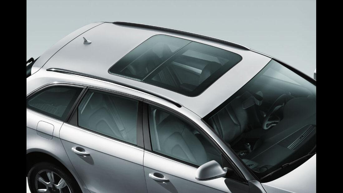 Audi A4 Kaufberatung, Glasdach