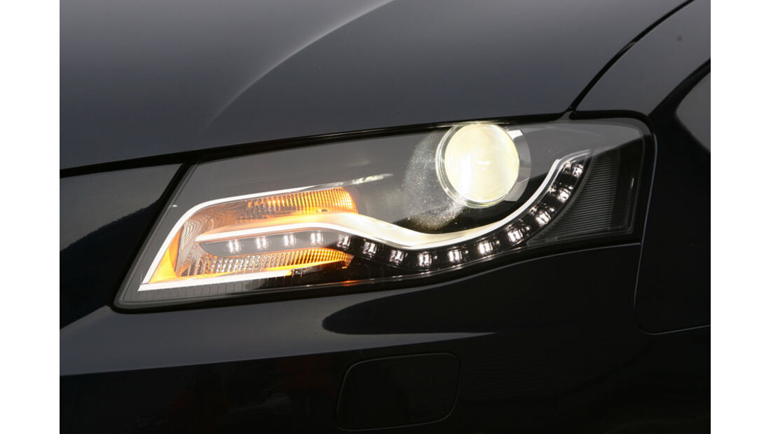 Audi A4 Kaufberatung, Xenonlicht