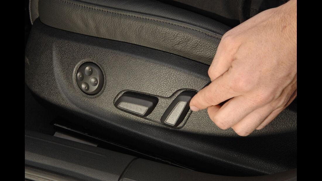 Audi A4 Kaufberatung, elektrische Sitzverstellung
