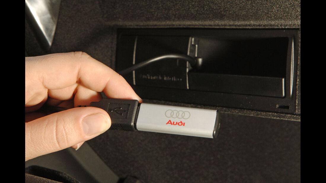 Audi A4 Kaufberatung, iPod-Anschluss