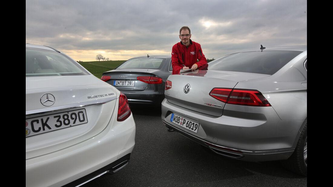 Audi A4, Mercedes C-Klasse, VW Passat, Sebastian Renz