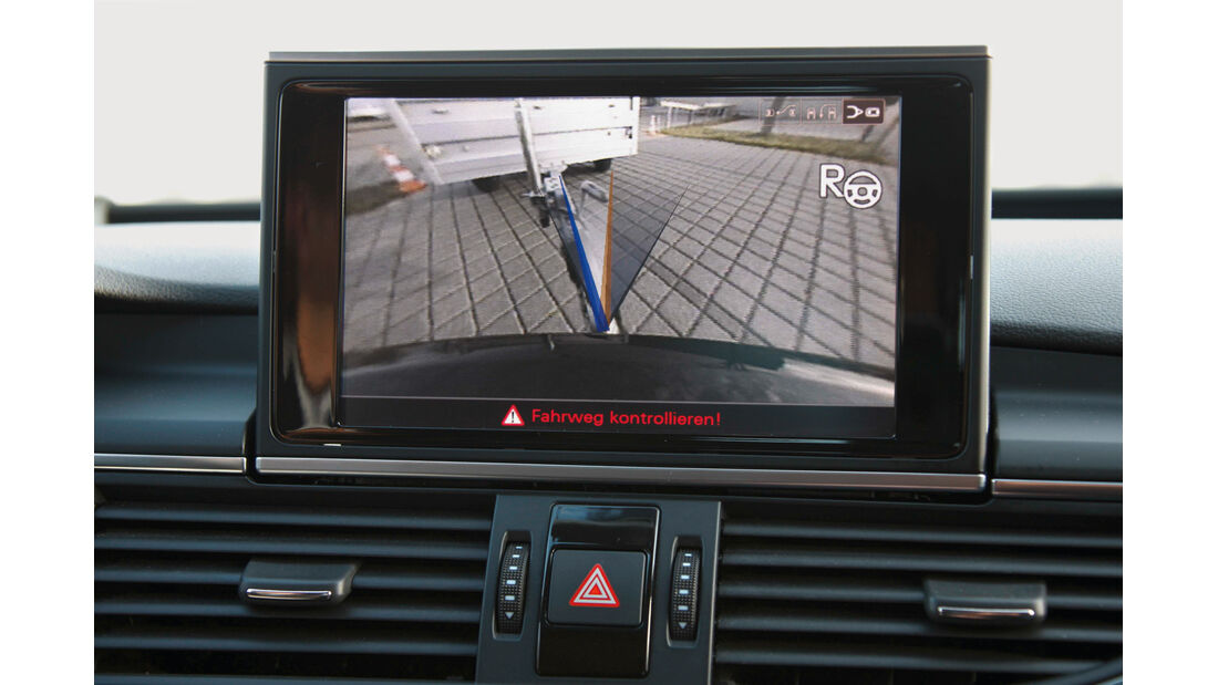 Audi A4, Rangierassistent