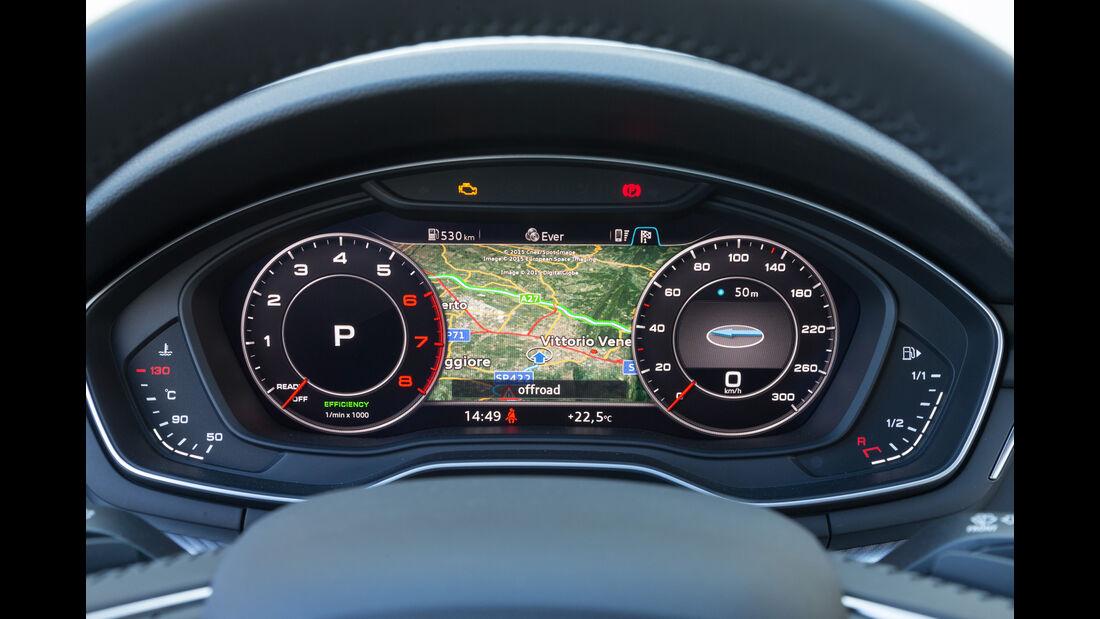 Audi A4, Rundinstrumente