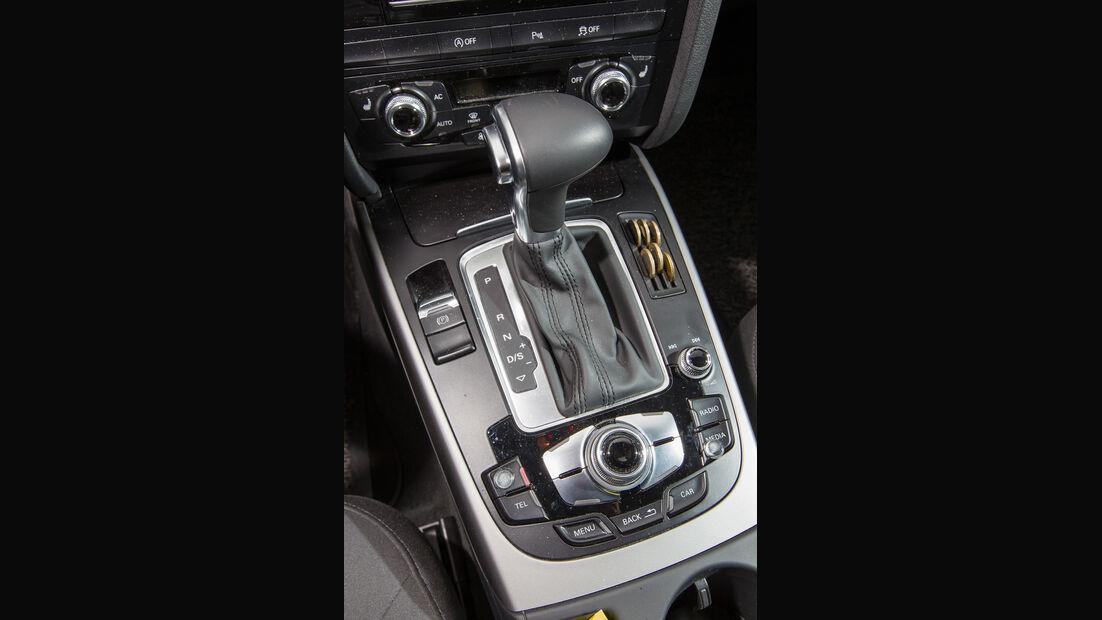 Audi A4, Schalthebel