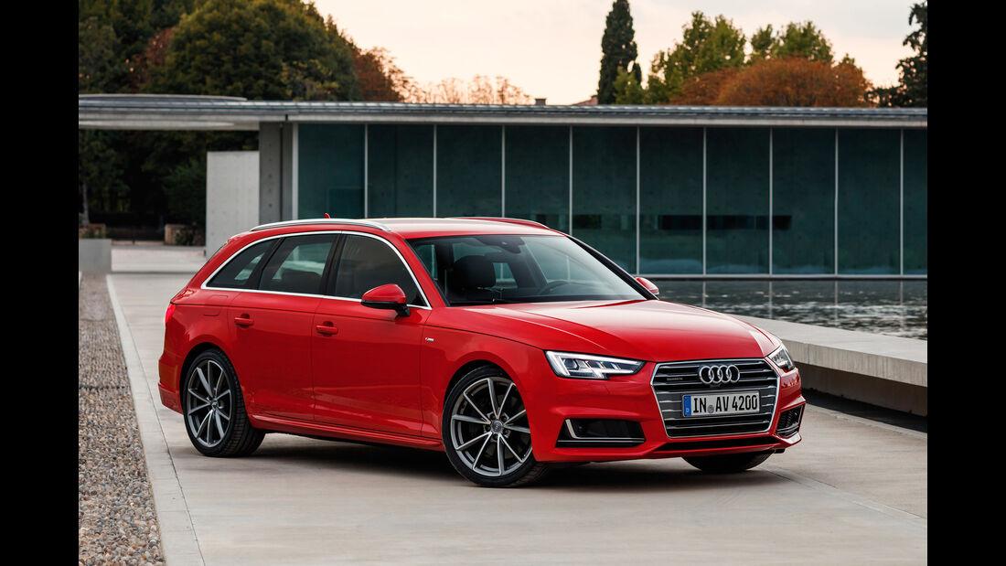 Audi A4, Seitenansicht