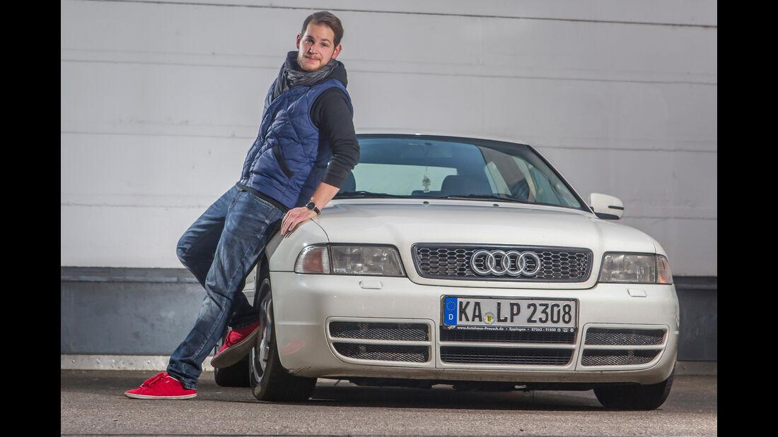 Audi A4 Winterauto Reportage