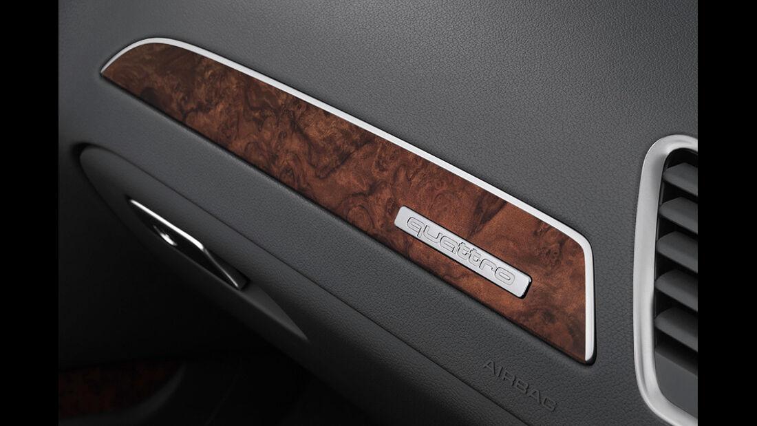 Audi A4, Zierleiste