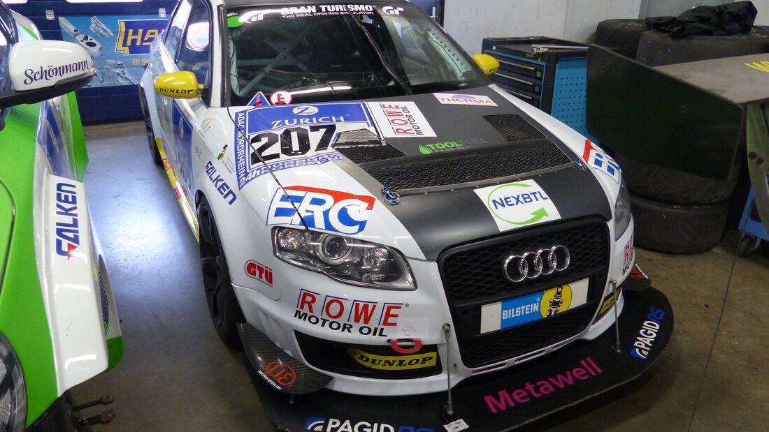 Audi A4 quattro - Startnummer: #207 - Bewerber/Fahrer: Thomas Hanisch, Michael Kühne, Michael Eichhorn, Markku Honkanen - Klasse: AT