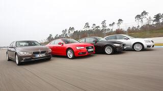 Audi A5 2.0 TDI, BMW 320d, BMW 420d, Skoda Octavia RS 2.0 TDI