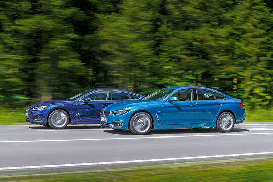 Audi A5 2.0  TDI, BMW 420d