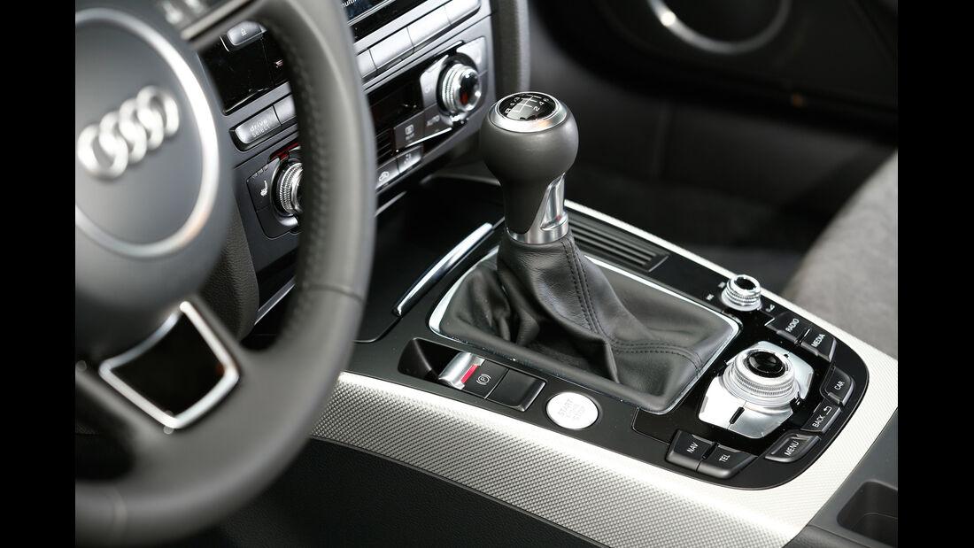 Audi A5 2.0 TDI, Schalthebel