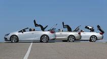 Audi A5 2.0 TFSI Cabrio, BMW 320i Cabrio, Opel Cascada 1.6 SIDI Turbo, Seite