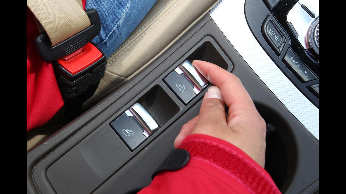 Audi A5 2.0 TFSI Cabrio, Bedienelemente