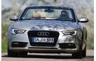 Audi A5 2.0 TFSI Cabrio, Frontansicht