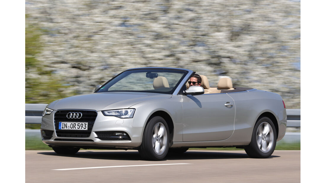 Audi A5 2.0 TFSI Cabrio, Seitenansicht