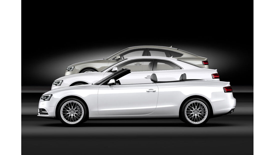 Audi A5, 2012, Facelift, Coupé, Cabrio