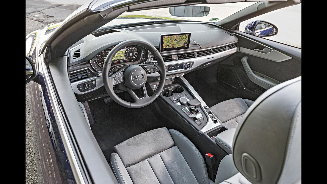 Audi A5 40 TDI Cabrio, Interieur