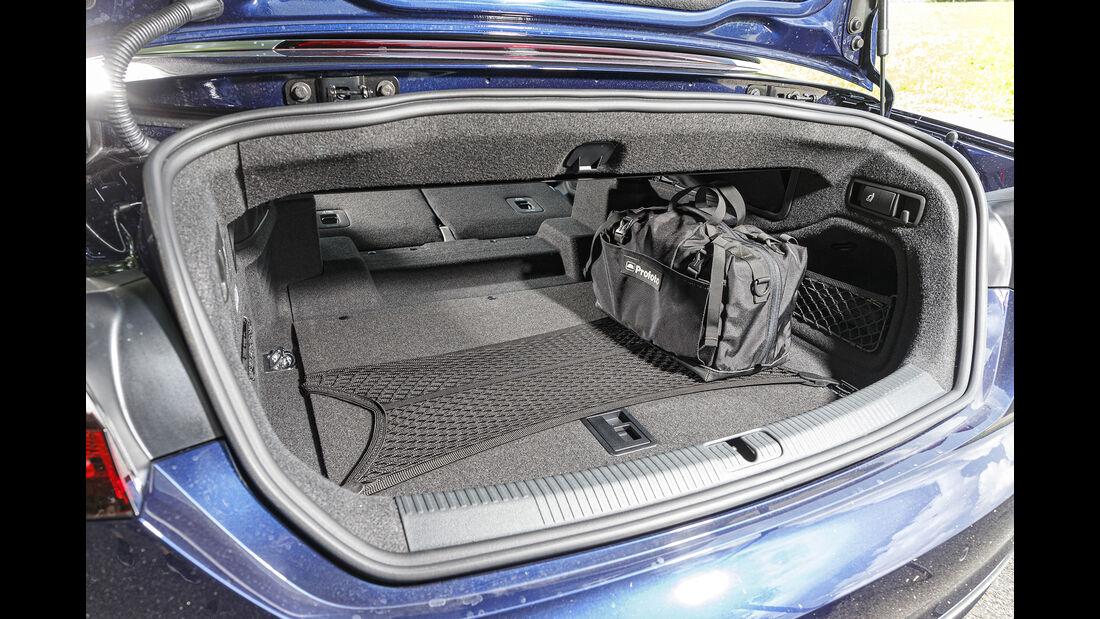 Audi A5 40 TDI Cabrio, Kofferraum