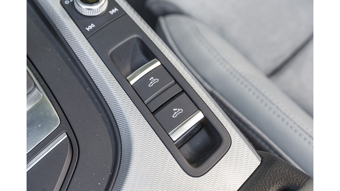 Audi A5 40 TDI Cabrio, Verdeckschalter