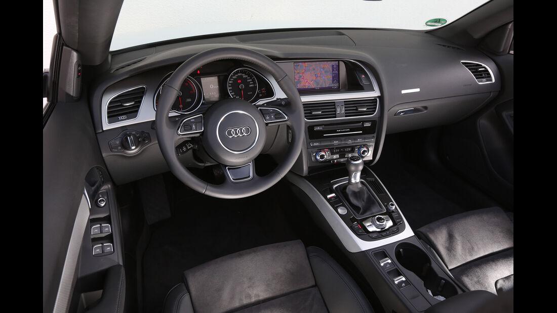 Audi A5 Cabrio 2.0 TDI, Cockpit