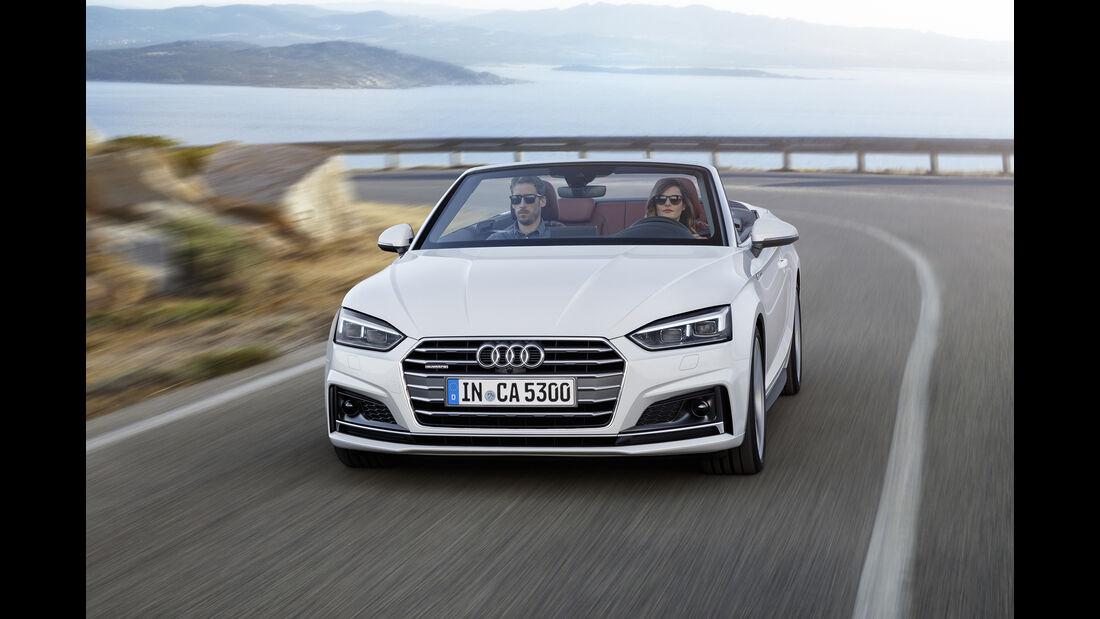 Audi A5 Cabrio 2.0 TDI, Exterieur