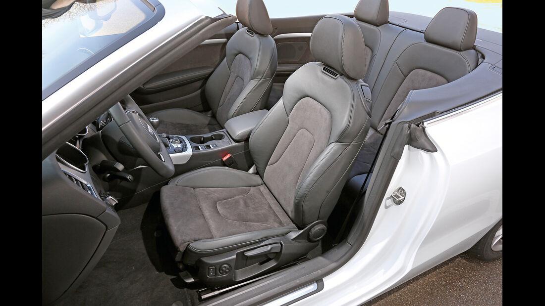 Audi A5 Cabrio 2.0 TDI, Fahrersitz