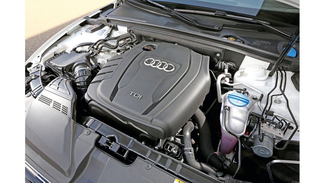 Audi A5 Cabrio 2.0 TDI, Motor