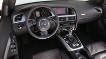 Audi A5 Cabrio, Cockpit