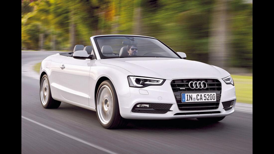 Audi A5 Cabrio, Frontansicht